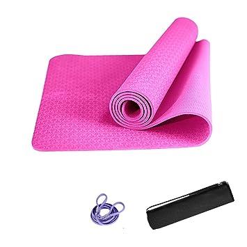 Colchoneta de Ejercicio de Yoga Grueso de 6 mm con Correa ...