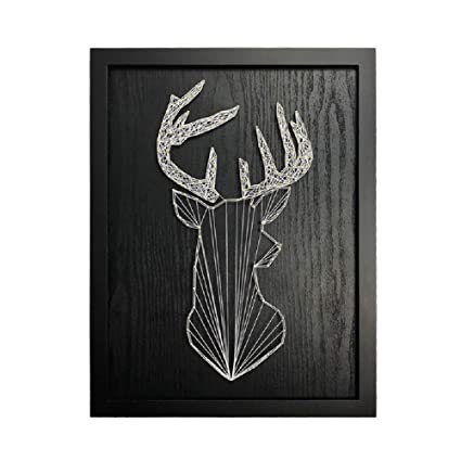 Amazon Com E M Diy String Art Kit Abstract Deer String Art Kit