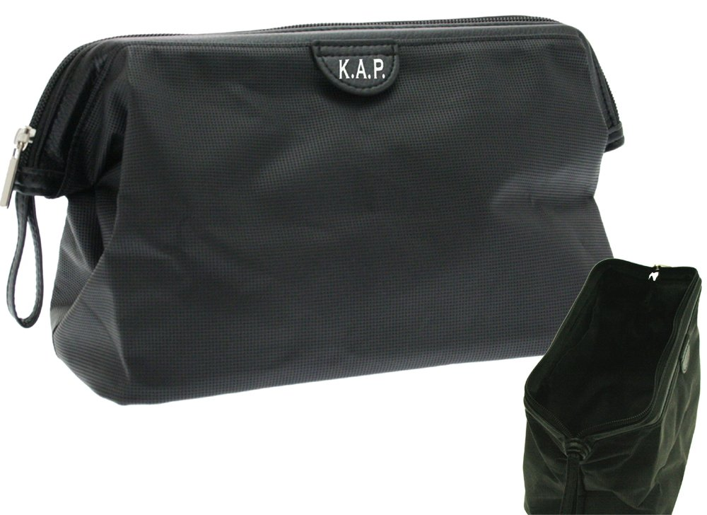 Mens Personalised Wash Toiletry bag  Amazon.co.uk  Luggage 2c3fa30a91f10