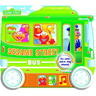 Sesame Street:  Sesame Street Bus: Shaped Vehicle Play-a-Sound Book