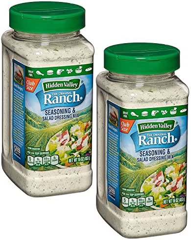 Hidden Valley Original Ranch Seasoning & Salad Dressing Mix, 16 Oz (Pack Of 2)