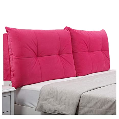 Amazon.com: WENZHE - Almohada de cabecero tapizada, cojín de ...