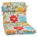 Pillow Perfect Outdoor Spring Bling Rounded Corners Chair Cushion, Multicolored For Sale