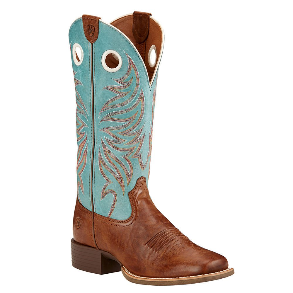 Ariat Women's Round up Ryder Western Cowboy Boot B013J25PNC 8.5 B(M) US|Wood
