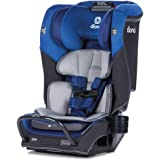 Diono 2020 Radian 3QX, 4-in-1 Convertible, Safe+ Engineering, 3 Stage Infant Protection, 10 Years 1 Car Seat, Fits 3 Across, Blue Sky