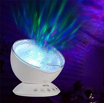 LUCKY CLOVER-A Navidad proyector paisaje romántico colorido Aurora ...
