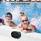 Mpow Portable Bluetooth Speaker, Wireless Waterproof Speaker with Water Resistant IP65, 5W Driver, Richer Bass for Car/iphone/Computer/TV/computer desktop/Laptop and More