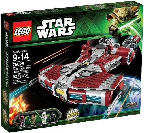 LEGO Star Wars 75025 Jedi Defender Class (Republic Star Cruiser)