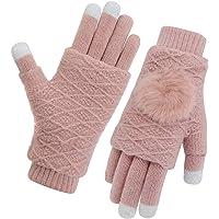 Vodabang Gants écran Tactile Femme Gants Touchscreen d'hiver Sports d'extérieur Gants Chauds