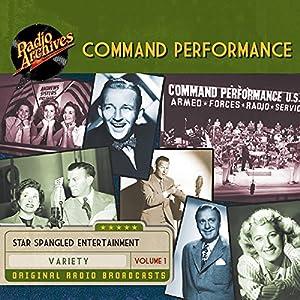 Command Performance, Volume 1 Radio/TV Program