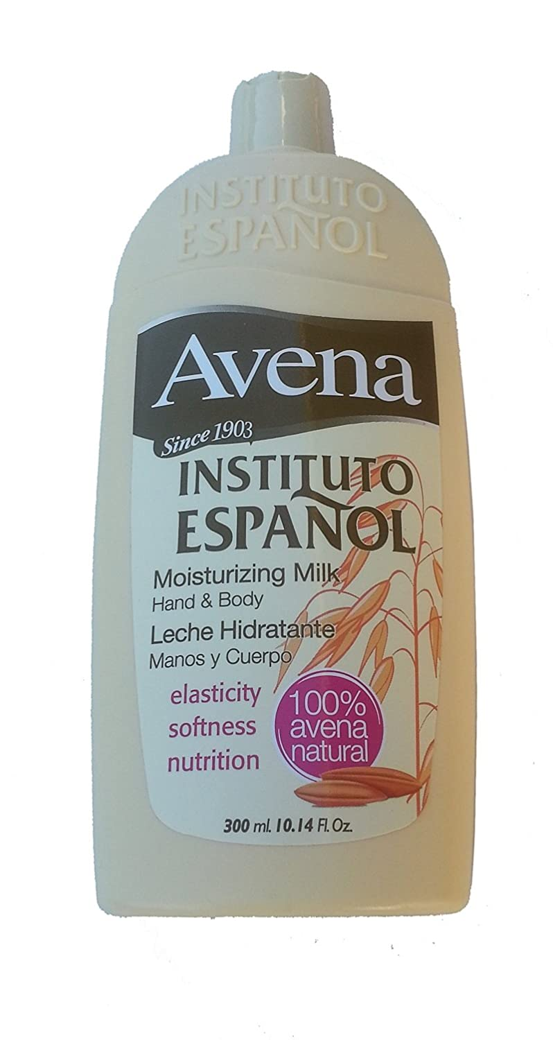 Amazon.com : Avena Instituto Espanol Moisturizing Milk Hand and Body 10.14 oz. : Body Gels And Creams : Beauty