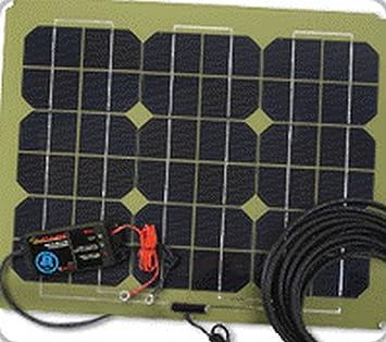 Amazon.com: 25 W Pulse Cargador de batería solar 735 x 325 ...