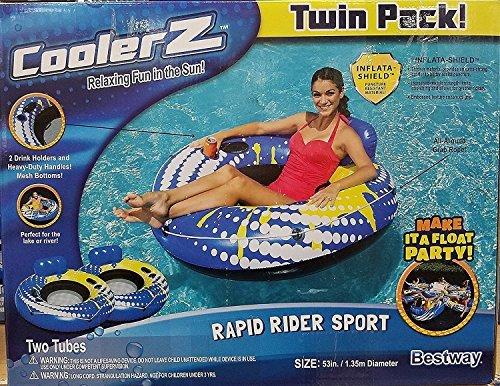 CoolerZ Rapid Rider Sport Twin Pack 53 Party float. [並行輸入品]   B077QHJ7LN