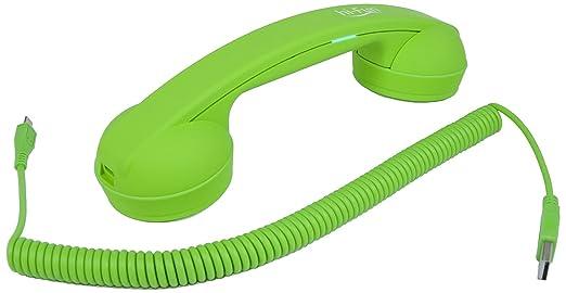2 opinioni per hi-Fun Hi-Ring, Cornetta Vintage Bluetooth, Colore Verde