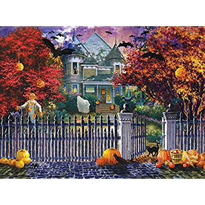 Sunsout 19227 Boehme Halloween House Puzzle 1000 Pezzi