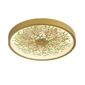 LED Zeitgenössisch Modern Deckenleuchte Wohnzimmer Golden ...