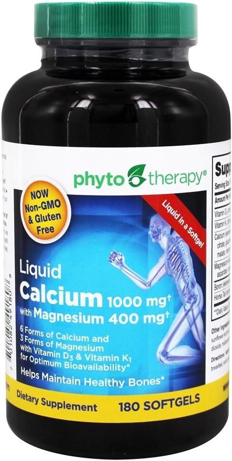 Phytotherapy Rx Calcium Liquid Softgel - 180 per Pack - 1 Each.