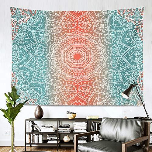 AITREASURE Mandala Tapestry Hippie Bohemian Tapestries Psychedelic Boho Tapestry Wall Hanging for Bedroom ( Pink Mandala, 59\'\'×79\'\' )