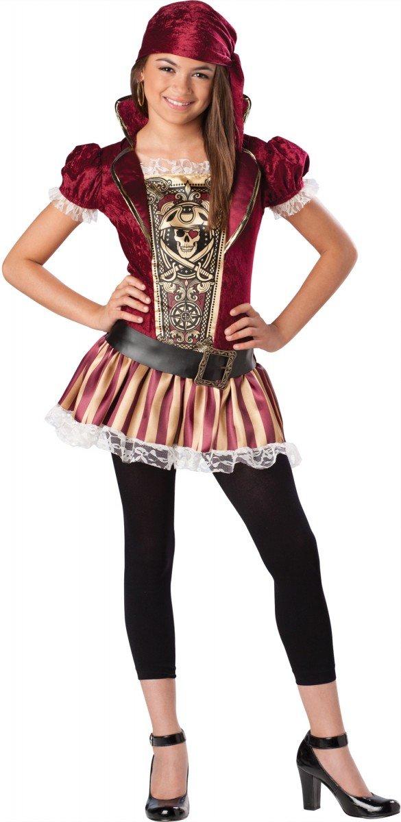 Swashbucklin Sass Tween Costume - Medium