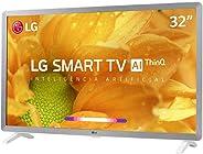 Smart TV LG LED 32'' HD Thinq AI Conversor Digital Integrado 3 HDMI 2 USB Wi-Fi com Inteligência Artificial - 32LM620BPSA
