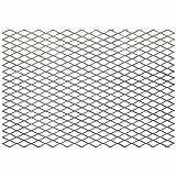 FixtureDisplays Steel Expanded Metal Mesh Sheet Flattened 3.3' Width, 7.7' Length 18112-NF