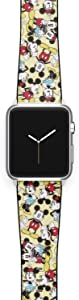 Watch Band Compatible with Apple iWatch All Series 38mm 40mm 42mm 44mm Cartoon Design Strap (mickm4) (38/40mm)
