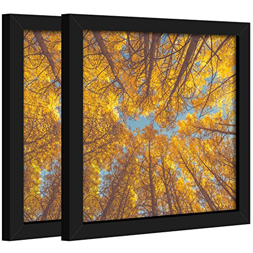 Art to Frames Double-Multimat-768-61//89-FRBW26061 Collage Frame Photo Mat Double Mat with 1-12x18 and 1-1x4.5 Openings and Espresso Frame