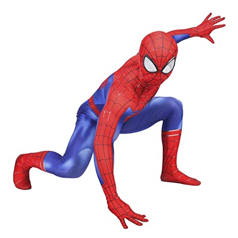 KOUYNHK Disfraz Infantil De Spiderman,Halloween Superhéroe ...