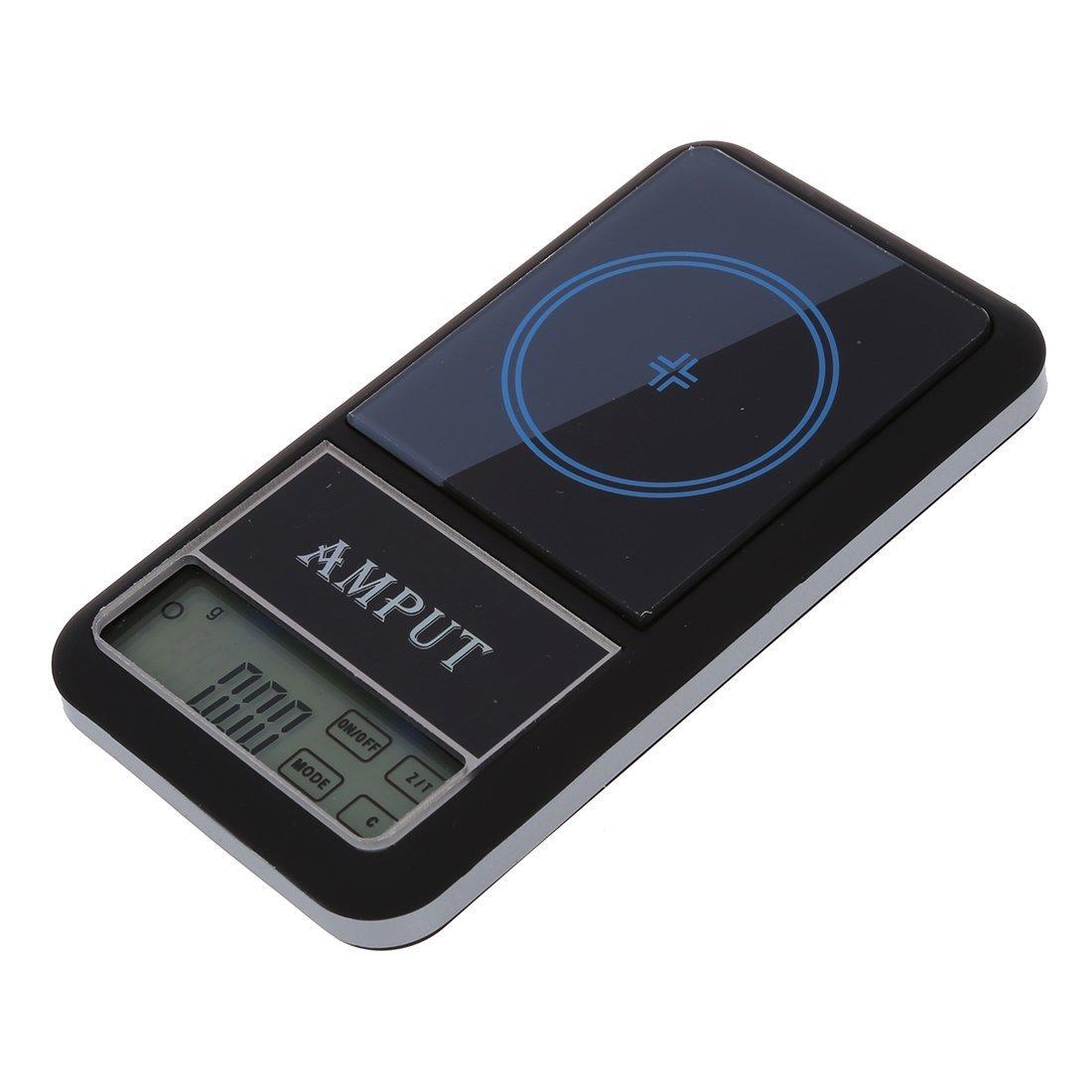 AMPUT Nueva Pantalla Tactil Digital de Bolsillo Escala Joyeria Escala 200g x 0.01g SHOMPFL068