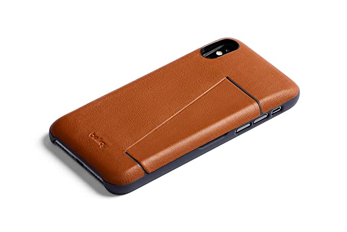 uk availability a3354 954f1 Bellroy Leather iPhone 8/7 Phone Case - 3 Card Caramel