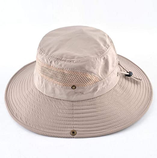 large sélection offre spéciale la qualité d'abord Amazon.com: Men's Summer Bucket Hat Wide Brim Sun Caps Women ...