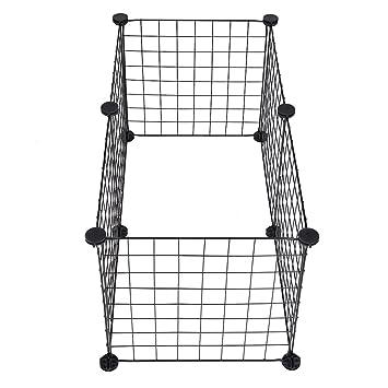 6 jaulas de hierro Jannyshop desmontables, para exteriores ...