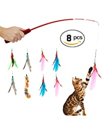Cat toys for Retractable cat wand
