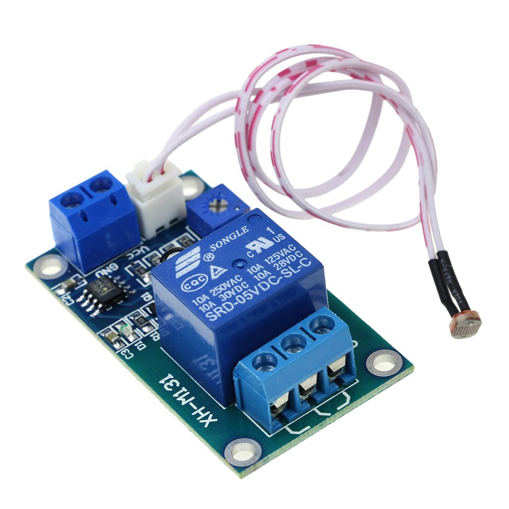 Superiparts Xh M131 Dc 5v Light Control Switch Photoresistor Relay Symbol The Circuit Module Detection Sensor Brightness Automatic Industrial