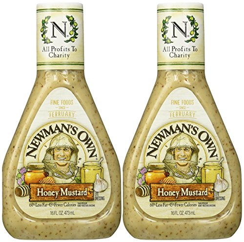 Newman's Own Honey Mustard Dressing - 16 oz - 2 Pack