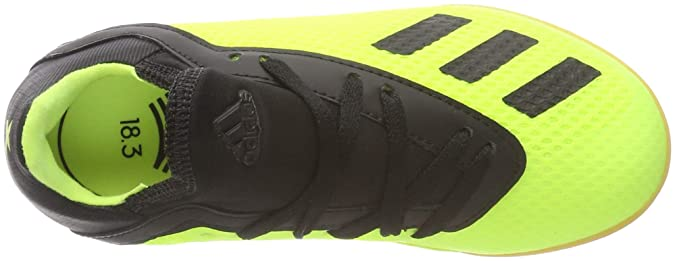 Amazon.com | adidas - X Tango 183 in J - DB2426 - Color: Black-Green - Size: 4.5 | Soccer