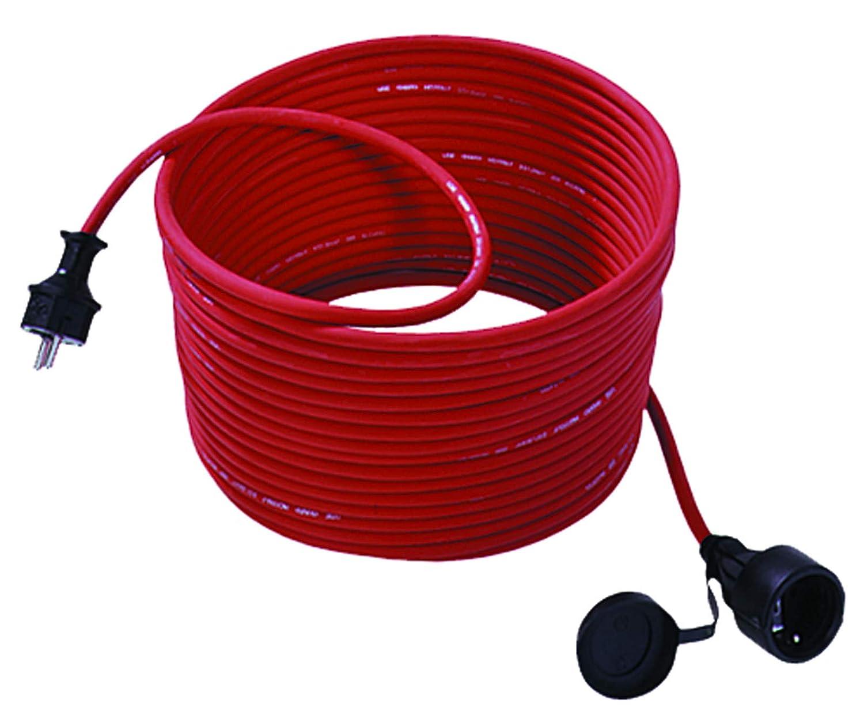 Bachmann 343.370 - Cable alargador para cortacésped (25 m, con ...