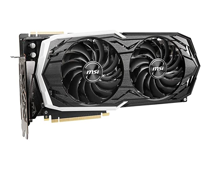 MSI GeForce RTX 2070 Super Armor OC 8GB GDDR6 Tarjeta gráfica 3xDP ...
