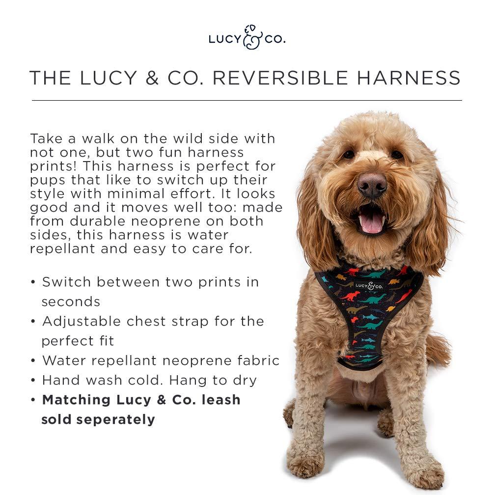 Lucy & Co. Arnés reversible para perro, ideal para pasear a ...
