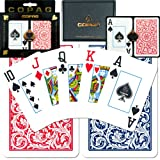 Copag Bridge-Size Jumbo Index Playing Card Set (Pack of 12)