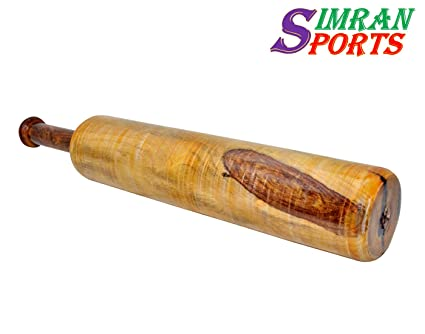 Buy Simran Sports Wooden Indian Clubs Mugdar Meel Clubbell
