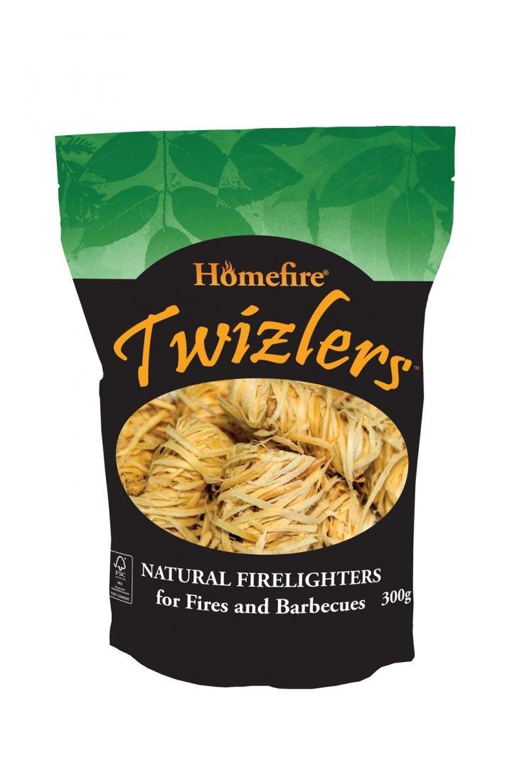 Homefire Twizlers (lana di legno), esca per fuoco, 300g 300g