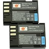 DSTE® アクセサリ Pentax D-LI90 D-L90P 互換 カメラ バッテリー 2個 対応機種 K-01 K-3 K-5 K-5II K-5IIs K-7 645D 645Z