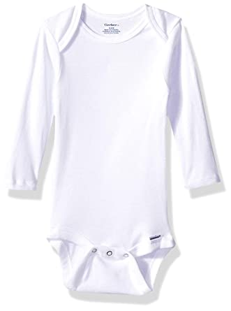 3a628e751 Amazon.com  Gerber Baby Boys  6-Pack Long-Sleeve Onesies Bodysuit ...