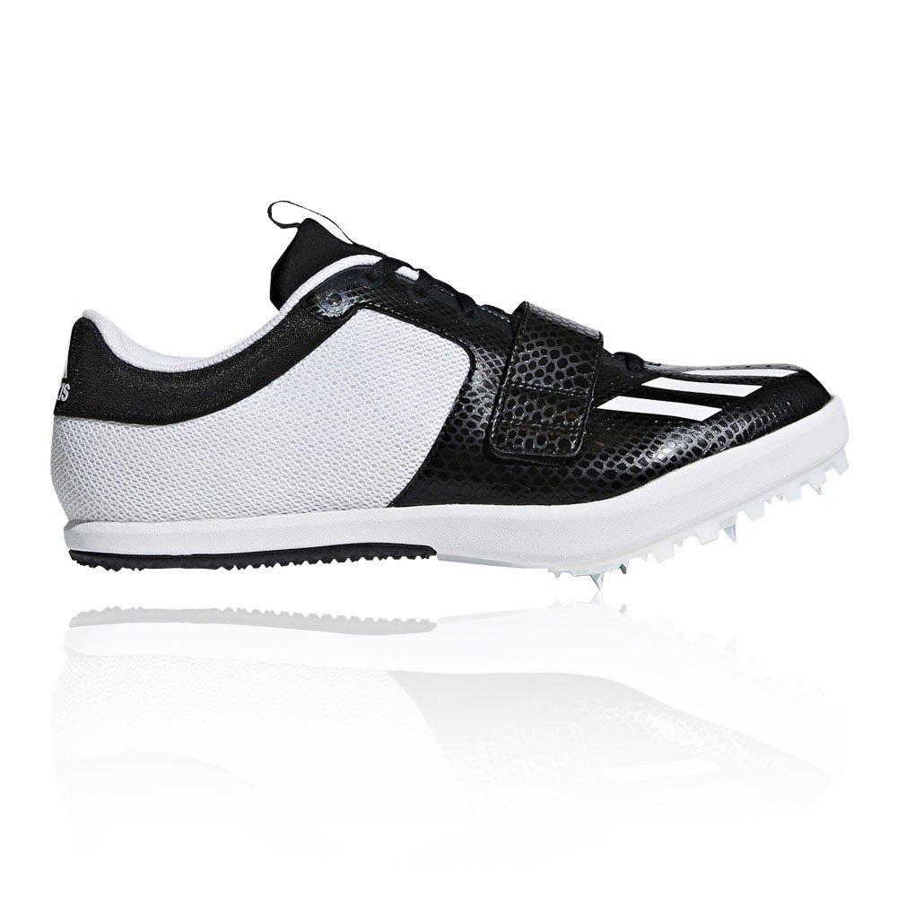 Adidas Jumpstar Track and Field Zapatillas Correr De Clavos - SS18 46 EU|Negro (Negbás/Ftwbla/Ftwbla 000)