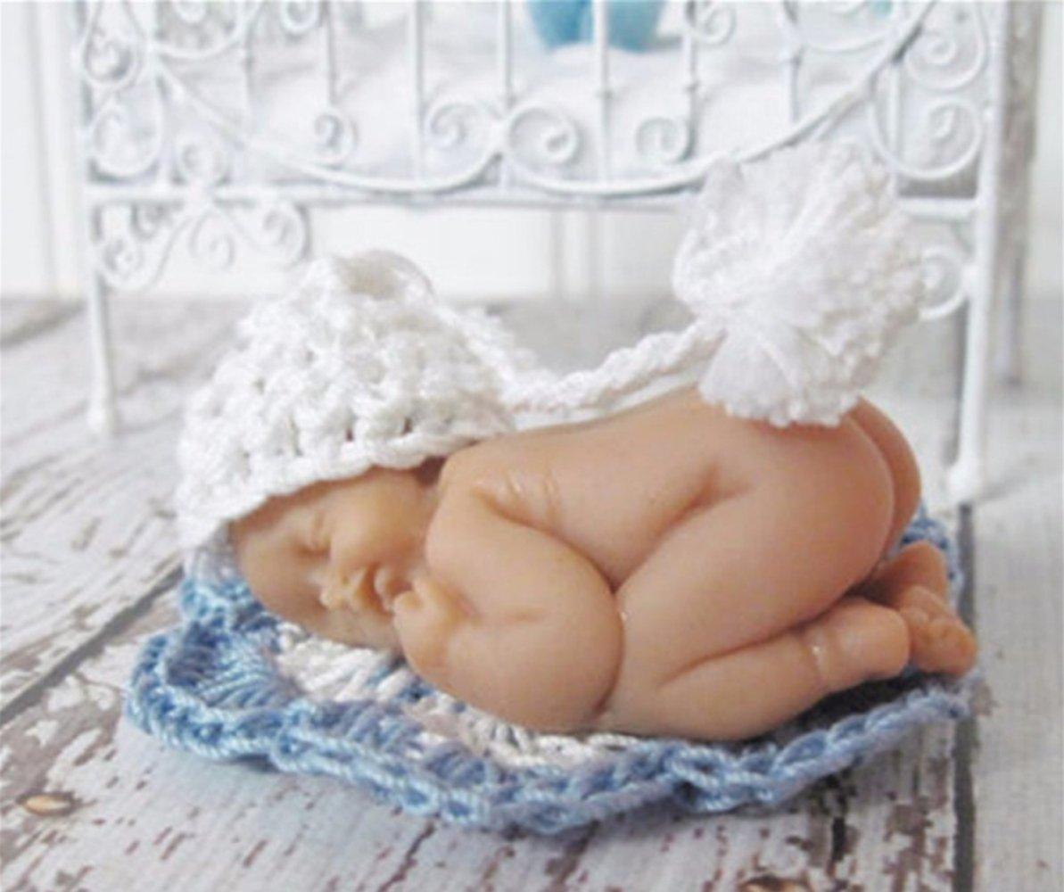Mini Baby Molds Fondant Cake Topper KOOTIPS Baby Silicone Cake Decorating Mold Cake and Chocolate Decorating