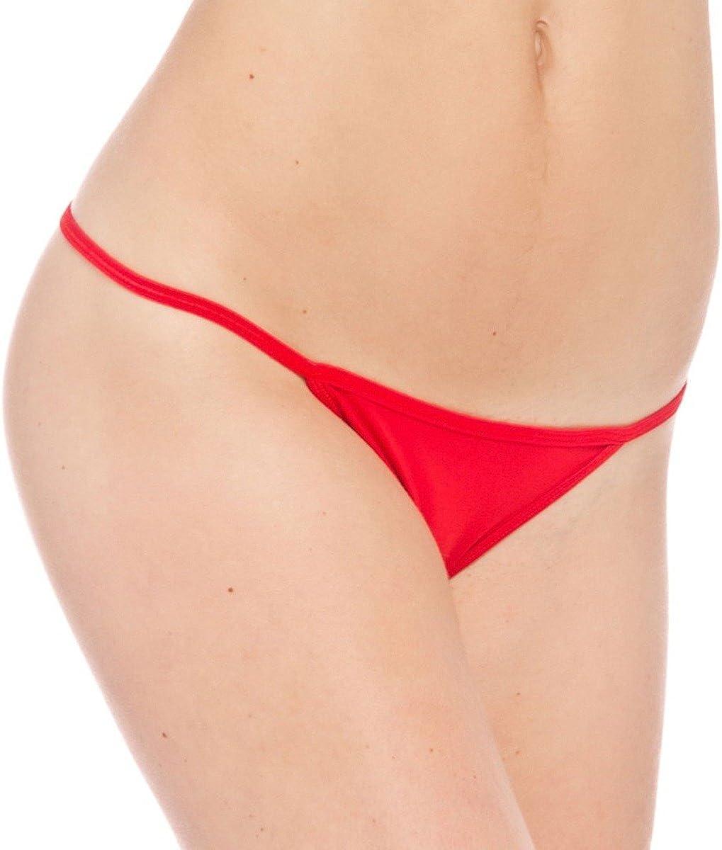 Prestige Biatta Womens Red Microfiber G-String Panty