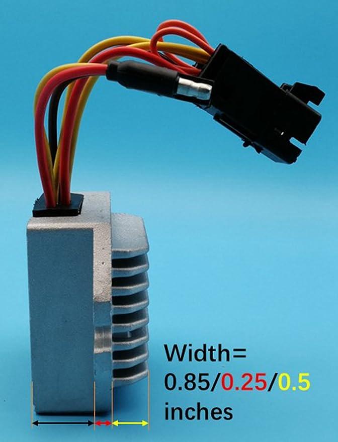 Tuzliufi Replace Voltage Regulator Rectifier Polaris 600 800 Indy SP Pro RMK 144 155 163 Rush Pro-R Switchback Adventure Assault Voyager ES 4013460 2013 2014 2015 2016 2017 2018 2019 New Z397