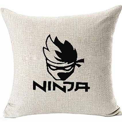 Amazon.com: FaceYee Ninja Gamer Pillowcases 18x18inch Ninja ...