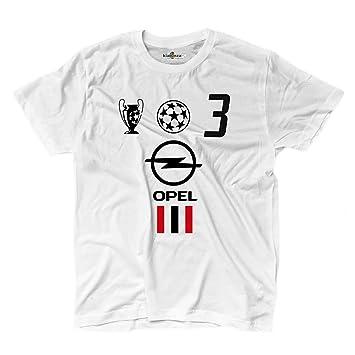 KiarenzaFD Camiseta Camiseta Fútbol Vintage Milan Maldini 3 Temporada 02 - 03 Champion 2 Hombre: Amazon.es: Deportes y aire libre